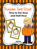 Pumpkin Clocks-Telling Time to the Hour and Half Hour