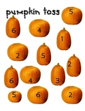 Pumpkin Toss Dice Game