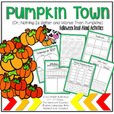 Pumpkin Town: No Prep Read-Aloud Activity Printables