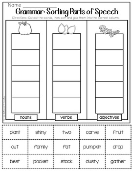 pumpkin town no prep read aloud activity printables