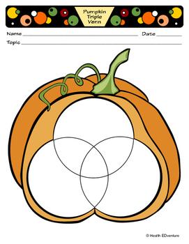Pumpkin Triple Venn Diagram