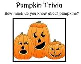 Pumpkin Trivia