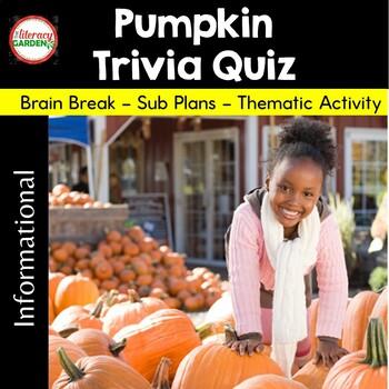 Pumpkin Trivia Quiz