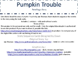 Pumpkin Trouble - Story Sequencing