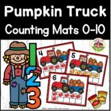 Pumpkin Truck Play Dough Counting Mats 0-10
