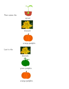 Pumpkin Unit Assessment- Perfect for early learners or special needs students!!