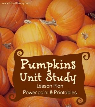 Pumpkin Unit Lesson Plan