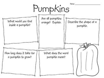Pumpkin Unit Materials