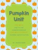 Pumpkin [Fall] Unit - Math, Phonics, Color Words, Numbers
