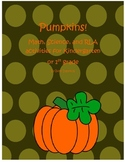 Pumpkin Unit - Math, Science, RLA, Common Core