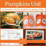 Pumpkin Unit with Life Cycle Craftivity