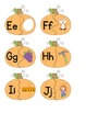 ABC Pumpkin- Letters and Sounds Matching Game for Word Work (Common Core)