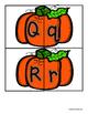 Pumpkin Uppercase / Lowercase Alphabet Match -  RF.K.1d