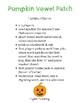 Pumpkin Vowel Patch: Short Vowel Practice Game