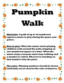 Pumpkin Walk Game