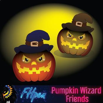 Pumpkin Wizard Friends