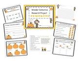 Pumpkin Wonder Detective Research Project