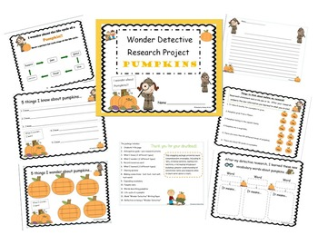 Pumpkin Wonder Detective Research Project