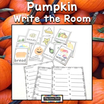 Pumpkin Write the Room