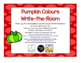 Pumpkin Write-the-Room