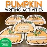 Pumpkin Writing Activities