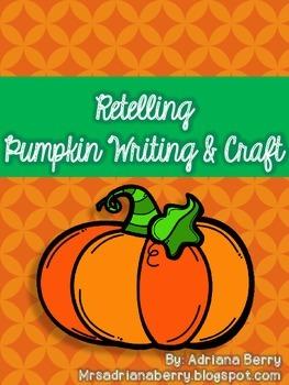 Pumpkin Writing & Craft Freebie