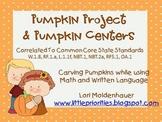 Pumpkin Writing Project and Pumpkin Centers