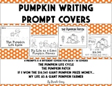Pumpkin Writing Prompt Cover Pages - Color and Hang Above