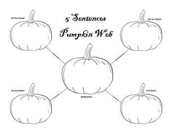 Pumpkin Writing Web