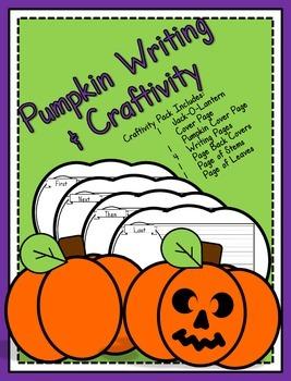 Pumpkin Writing and Craftivity