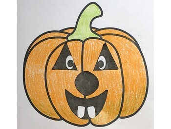 Fall Pumpkin Writing and Craftivity for K-2-Great for Halloween
