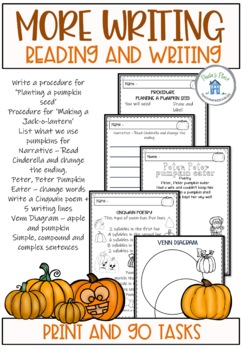 Pumpkin - Writing and Reading
