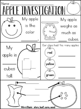 Pumpkin and Apple Investigation