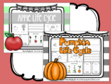 Pumpkin and Apple Life Cycle- Reading and Writing Center A