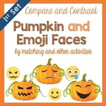 Pumpkin and Emoji Faces Halloween Activites