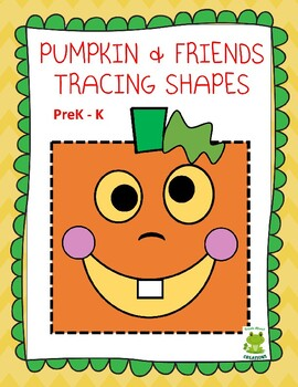 Pumpkin and Friends Tracing Shapes