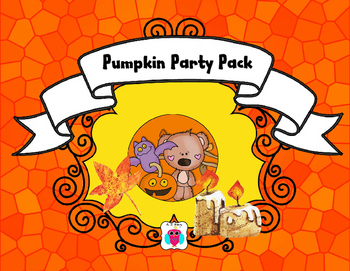 Pumpkin and Halloween Party Pack