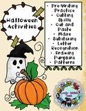 Pumpkin and Halloween Themed Activities