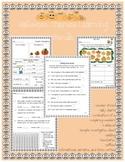 Pumpkin and Halloween Themed Math and ELA Learning Bundle