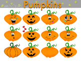 Pumpkin Jack O'Lantern Clip Art