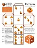 Pumpkin and Squash Pack: Math & Movement Cubes