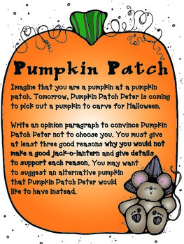 Pumpkin and Turkey Writing Prompts