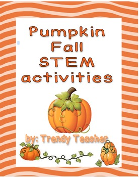 Pumpkin and seed STEM activities