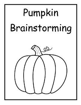 Pumpkin brainstorming