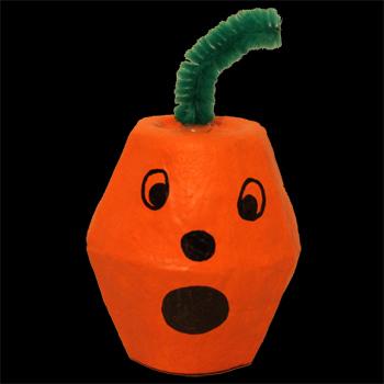 Pumpkin craft for Halloween