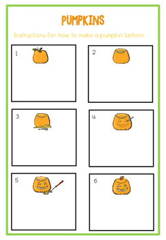 Pumpkin cross curricular activities