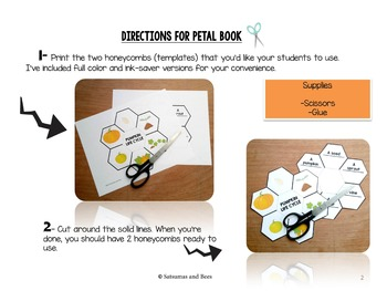 Pumpkin life cycle-Interactive Science Notebook foldable