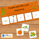 Pumpkin life cycle sequencing activity worksheet