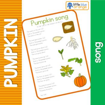 Pumpkin life cycle song