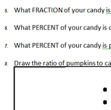 Pumpkin math conversions